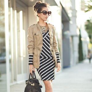 LAMade Striped Jersey Dress